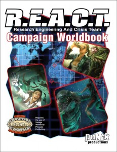 REACT Worldbook, Savage Worlds Edition