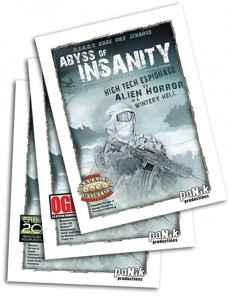 Covers to all three system/versions of the Abyss of Insanity Product Bundle