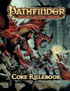 Cover of the Pathfinder RPG Core Rulebook