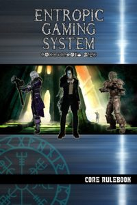 Cover of the Entropic Gaming System RPG rulebook