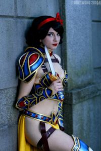 Picture of Sexy Snow White Cosplayer