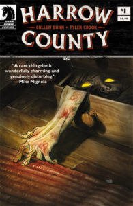 Cover to Harrow County Issue one