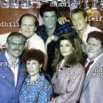 "Picture of the cast of TV show ""Cheers"" as orcs"
